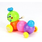 VIPASNAM-Cute Kids Baby Developmental Educational Toy Colorful Caterpillar Wind-up Toys