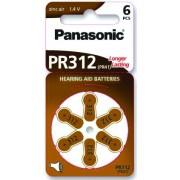 Baterija za slušni aparat Panasonic PR312
