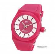 Reloj Q&Q VR32J006Y - Fucsia - Caucho