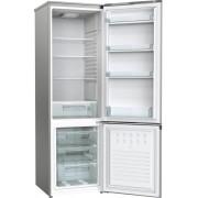 Combina frigorifica Gorenje RK4171ANX, 273 L, Static, Clasa energetica A+, Comenzi mecanice, Cutie fructe/legume, H 176 cm, Gri metalic