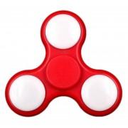 Antiestrés Color Del Juguete Que Cambia LED Fidget Finger Spinner -Rojo