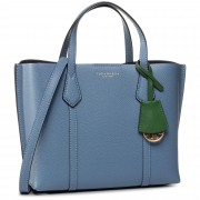 Дамска чанта TORY BURCH - Perry Small Triple-Compartment Tote 56249 Bluewood 457