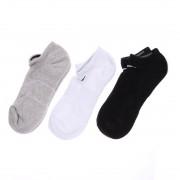 【SALE 4%OFF】ナイキ NIKE ソックス 3P コットン クッション ノーショウ ソックス + モイスチャー マネジメント SX4702901 靴下 レディース メンズ