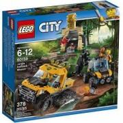 Конструктор ЛЕГО СИТИ – Мисия за джип с вериги, LEGO City, 60159