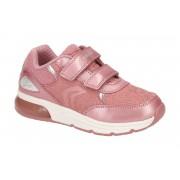 Geox Spaceclub Kinderschuhe rosa Blinker