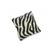 Victor zebra - kuddfodral i konstmaterial