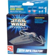Star Wars Episode I Sith Infiltrator Snapfast Mini Model Skill 1