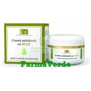 Crema Exfolianta Sulf 50 ml Tis Farmaceutic