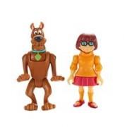 Set 2 Figurine 7 Cm Scooby Doo Si Velma