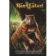 Man-Eater!: A Four Against Darkness Adventure for 1 to 4 Players, for Character Levels 3 to 5, Paperback/Andrea Sfiligoi