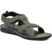 Action Shoes Men PG-2253-OLIVE Sports Sandals