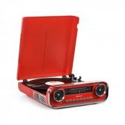 Auna Challenger, LP gramofon, bluetooth, FM Radio, USB, roșu (TTS13-Challenger LP)