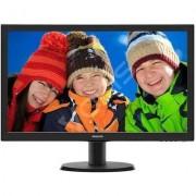 Philips 23.6'' 243V5LSB5 LED DVI Czarny