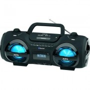 Ghettoblaster AEG SR4359BT mit CD/MP3-Player, USB/SD, Radio und Bluetooth