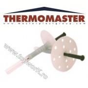 Diblu cu rozetă şi tijă THERMOMASTER D 70 mm 250 buc