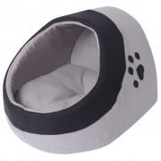 Sonata Къща за котка, сиво и черно, M