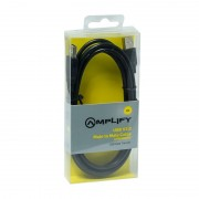 Amplify USB Male to Male Cable - 2m