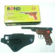 bond wooden air gun free 200 pellets 1 cover