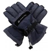 ALPINE PRO MIRON Unisex lyžařské rukavice UGLM012602 mood indigo L