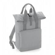 Bag base Twin Handle Roll-Top Backpack Light Grey