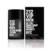 212 vip men after-shave loção 100ml - Carolina Herrera