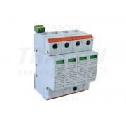 Descarcator de supratensiuni,AC,cl.2,elem.modular inlocuibil TTV2-20-3P+N/PE 230/400 V, 50 Hz, 10/20 kA (8/20 us), 4P