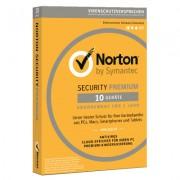 Symantec Norton Security Premium 3.0 10 dispositivi versione completa Edizione 2019. 1 Anno