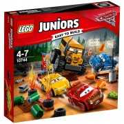 Lego Juniors Cars 3: Carrera Crazy 8 en Thunder Hollow (10744)