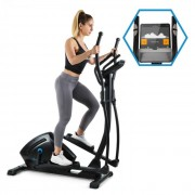Capital Sports Helix Track, cross tréner, bluetooth, applikáció, 18 kg lendkerék (FITN7-CS Helix Track)