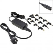 AU-70W+13 TIPS 70W Universal AC Power Adapter Charger with 13 Tips Connectors for Laptop Notebook EU Plug