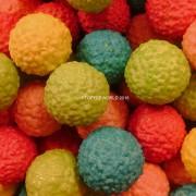 Golf Balls Coloured Bubble Gums Sweets Kervan