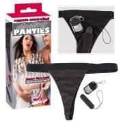 Vezeték nélküli vibrációs bugyi (fekete)