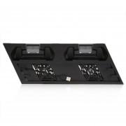 YH16 Carga Ultradelgada Disipador De Calor Para PS4 Pro Soporte Vertical Con Ventilador Enfriador