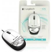 Miš Logitech M105, bijeli