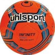 uhlsport Fußball INFINITY 350 LITE SOFT - fluo rot/marine/royal | 5