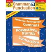 Grammar & Punctuation, Grade 2 'With Free Download', Paperback/Evan-Moor Educational Publishers