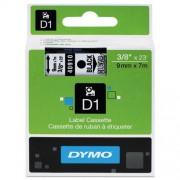 Lettertape Dymo D1 tape S0720670 (40910) 9mm x 7m