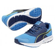 Puma Men's Descendant v3 Cloisonné, Poseidon and Sulphur Spring Mesh Running Shoes - 11 UK /India(46EU)