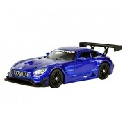 Motormax - 1/24 Die-Cast Collection Mercedes-Benz AMG GT3 (Blue)