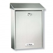 HANNOVER letter box with protective coating