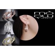 Genova International Ltd £9.99 instead of £59 for a forever hoops infinity earrings - 3 colours! from Genova International Ltd - save 83%