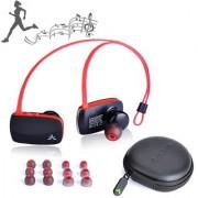 Avantree aptX Wireless Bluetooth 4.0 Earbuds Super Bass Lightweight Voice Prompts in Ear Universal Sport Headphones - S