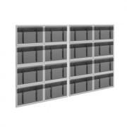 Vogels Splittwandhalter-Set für 4x4 Flachbildschirme