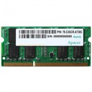 Памет apacer 8gb notebook memory - ddram3 sodimm 240pin low voltage 1.35v pc12800 1600mhz - as08gfa60catbgj