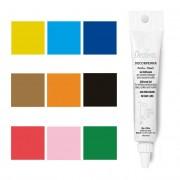 Decora Gel con purpurina para decorar de colores de 20 g - Decora - Color Rojo