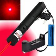 Red laser Pointer 100 MW Laser Rosu 3D cu Acumulator
