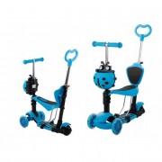 Gyerek roller Vekr 5 az 1-be katicabogár, LED kerekekkel