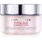 Lancaster Total Age Correction crema nutritiva antiarrugas SPF 15 50 ml