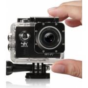 Camera video sport subacvatica 4K 16 mpx negru Gonga
