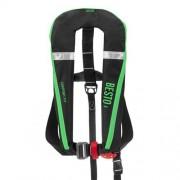 Besto Comfort Fit automatisch reddingsvest 165N, zwart/groen